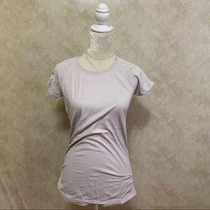 ❤️Athleta Dusty Baby Pink Athletic Tee Shirt M❤️